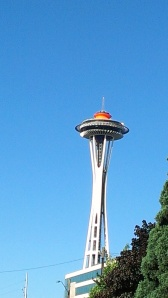View of Space Needle from Copiers Northwest